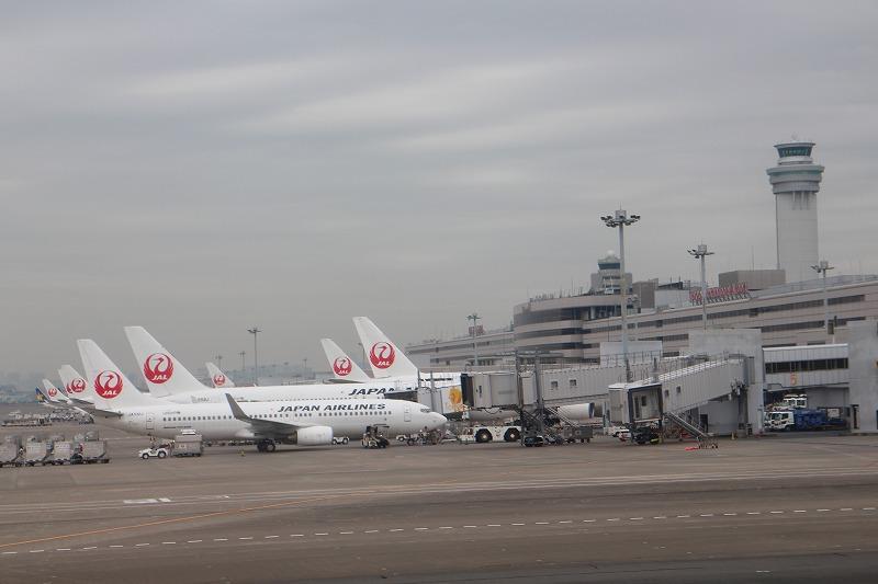 羽田空港JAL駐機場