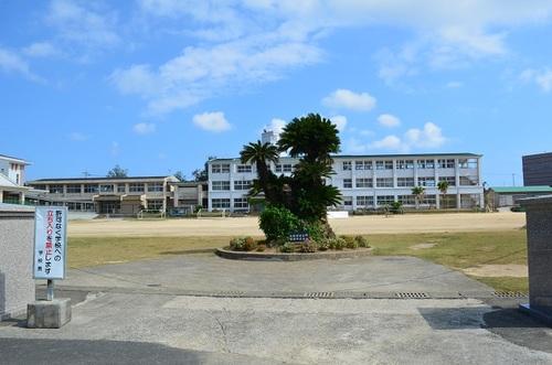 喜界島通信:喜界第一中学校