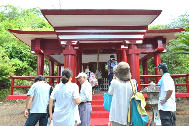 7厳島神社 本殿